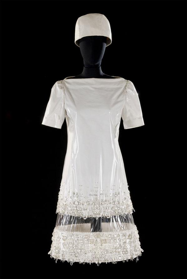 abito plastica anni60
