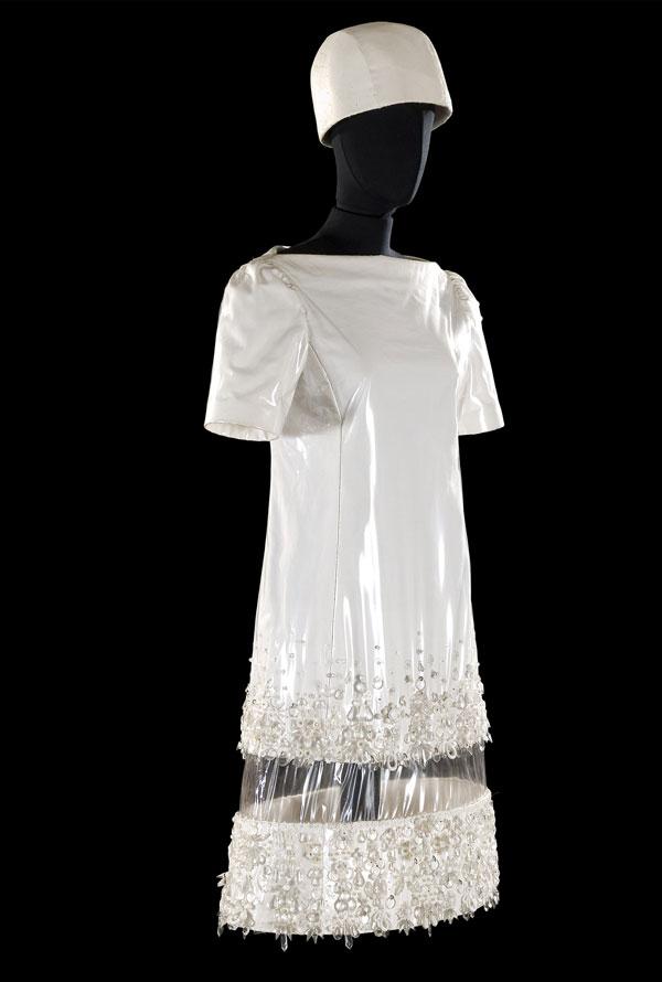 abito plastica anni60-1